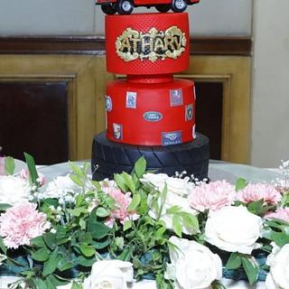 Birthday car cake  - Cake by GorgeousCakesBLR