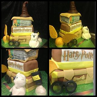 Harry potter cake nightmare of a day