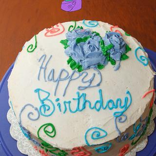 Butter cream Birthday