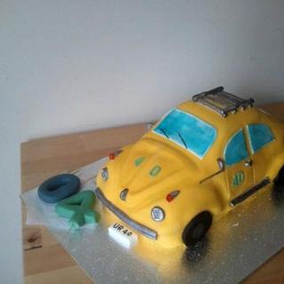 VW beetle - Cake by tubachick