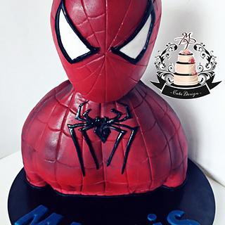 Spiderman cake 3D