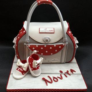 Baby Shower/Cath Kidston Bag & Shoes Cake