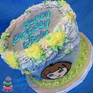 Pearlized Lambeth Piped Buttercream  - Cake by Special Occasions - Cakes, Etc