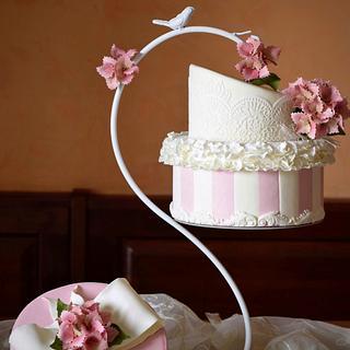 A Hat Chandelier - Cake by Veronica Seta