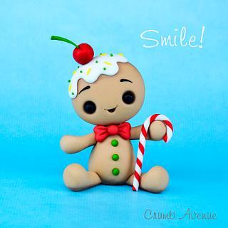 Gingerbread Man Topper