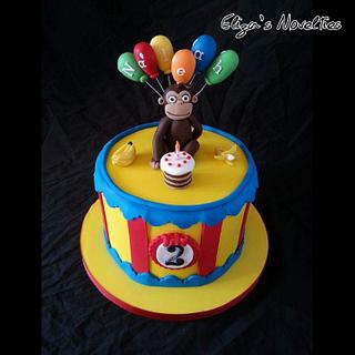 Curious George - Cake by Eliza's Novelties