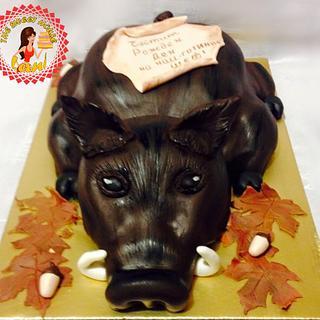 Cake for the hunter
