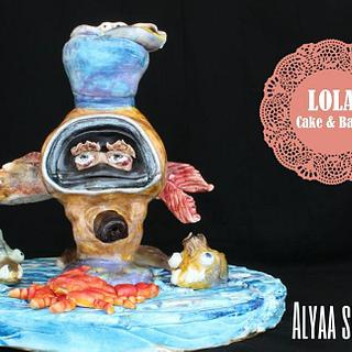 Cancer Zodiac Cake Challenge