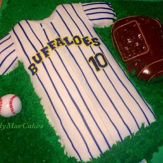 Baseball Jersey, Ball and Glove