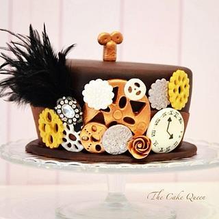 Steampunk Cake!!!!!