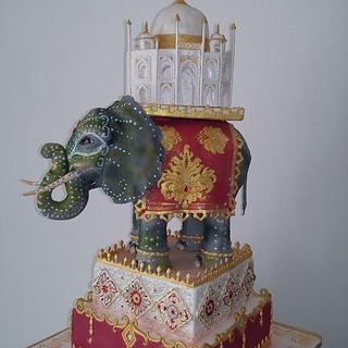 Indian cake - Cake by Michela CAKE ART