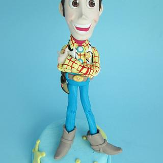woody cake topper