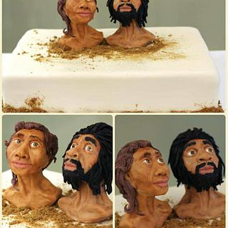 The first Europeans to Georgia, Mzia Zezva - Cake by Casta Diva