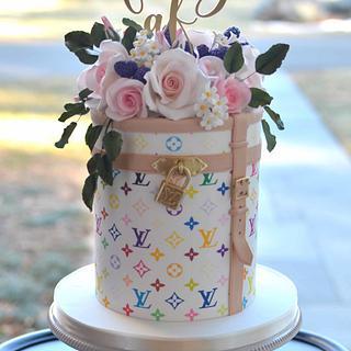 Louis Vuitton Cake - Cake by Elisabeth Palatiello