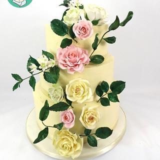 Sugar Free wedding cake