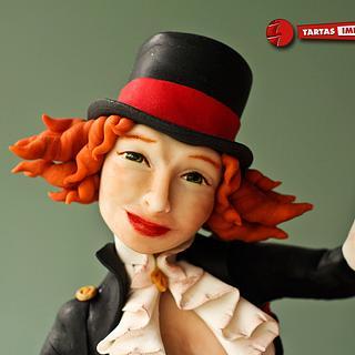 Alannah -The magician- - Cake by Tartas Imposibles