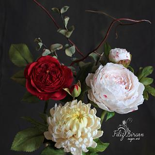 Sugar Flowers Bouquet <3