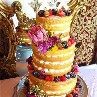 naked x  - Cake by Sharon, Sadie May Cakes