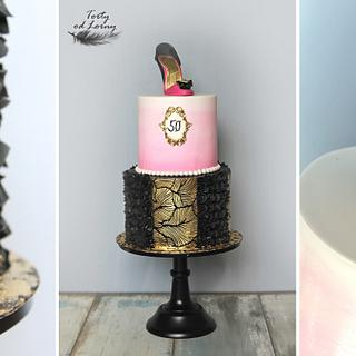 Lady shoe - Cake by Lorna