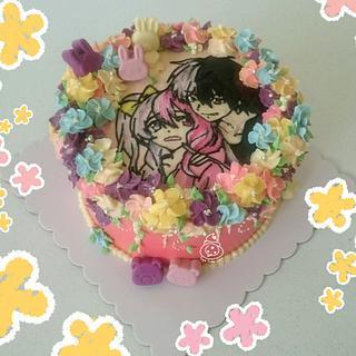 Anime Cake - Cake by Sugar Snake Cake