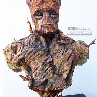 Im Groot (sculpturecake)