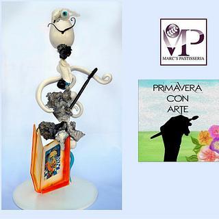 Dalí Primavera con arte collaboration