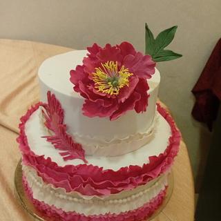 Pretty pink  - Cake by Priyanka kundu and Pooja sardana