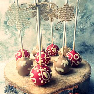RUSTIC WESTERN COUNTRY CAKE POPS