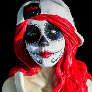 """LIZBETH""SUGAR SKULL BAKERS COLLABORATION"