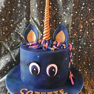 Galaxy unicorn - Cake by Mandy