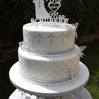 White Silver weddingdream