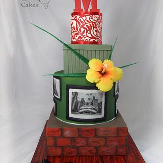 Marlows Tavern display cake
