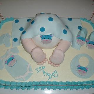 Baby Rump - Cake by VikkiSheppard