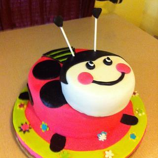 Lady Bug Cake - Cake by Dana