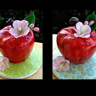An Apple For The Teacher - Cake by Bliss Pastry