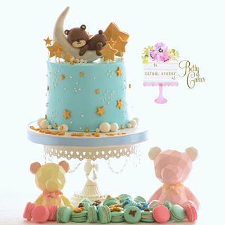Teddy bear cake  - Cake by BettyCakesEbthal