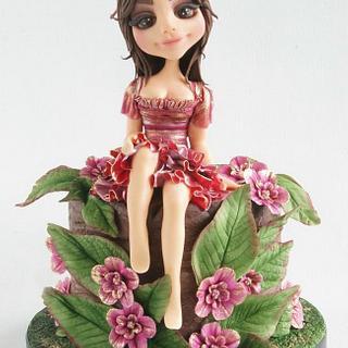 princess of the Forest - Cake by Brenda Bakker