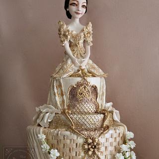 Mestiza Terno - Cake by Joanne Wieneke