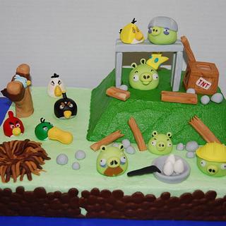 Angry Birds Cake II