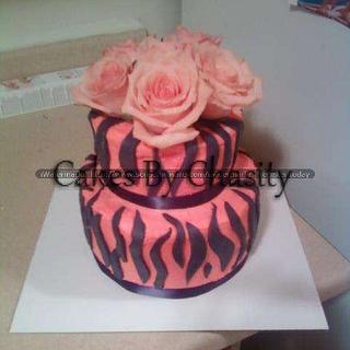 zebra - Cake by chasity hurley