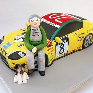 Aston Martin Cake for the CEO!