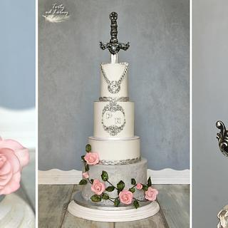 Wedding cake.. - Cake by Lorna