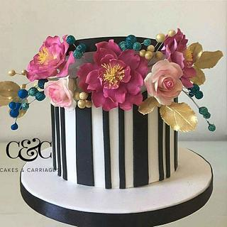 Hat box cake - Cake by Dawn Booth Sugarcraft Artist