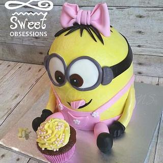 Minion Cake - Cake by Sweet Obsessions Cake Co