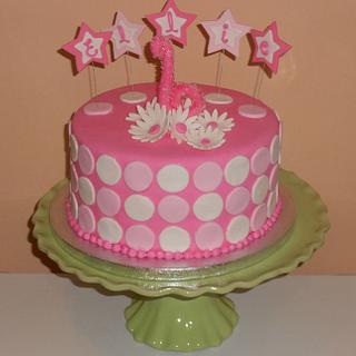 Pink - Cake by CakesbyMayra