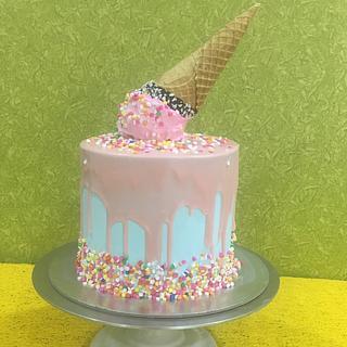 Ice cream cake for summer  - Cake by Blissful Bytes