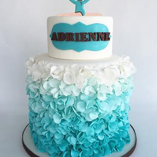 Gymnastics cake - Cake by Dakota's Custom Confections