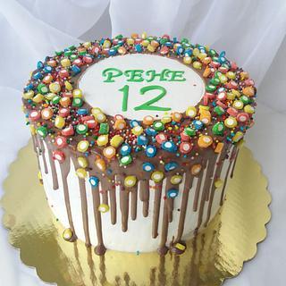 Chocolate funny cake  - Cake by Nadi Ivanova
