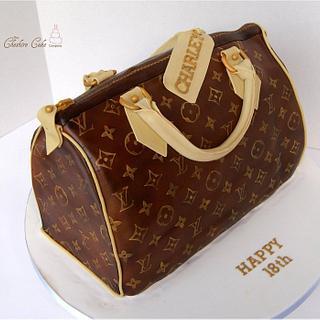 Louis Vuitton handbag / purse cake
