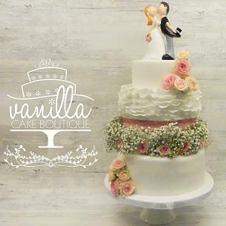 Wedding Cake - Cake by Vanilla cake boutique